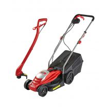 JDW Electric Mower & Trimmer Twin Pack