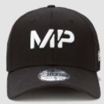 MP New Era 39THIRTY Baseball Cap - Black/White - M-L