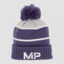 MP New Era Knitted Bobble Hat - Navy/White