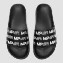 MP Women's Sliders - Black/White - UK 6
