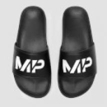 MP Men's Sliders - Black/White - UK 6