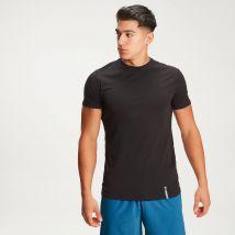 T-shirt à col ras du cou MP Luxe Classic pour hommes–Noir - S