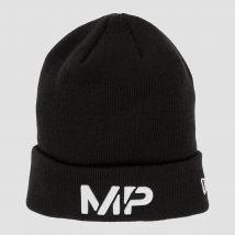 MP NEW ERA Cuff Knitted Beanie - Black/White