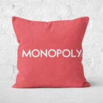 Monopoly Go Square Cushion - 40x40cm - Soft Touch