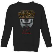 Star Wars Kylo Helmet Kids' Sweatshirt - Black - 7-8 años - Negro