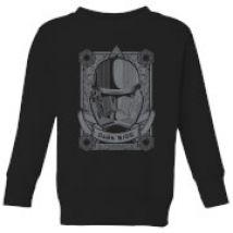 Star Wars Darkside Trooper Kids' Sweatshirt - Black - 3-4 años - Negro