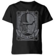 Star Wars Darkside Trooper Kids' T-Shirt - Black - 5-6 años - Negro