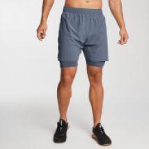 Gewebte 2-in-1 Essential Training Shorts - Galaxy - L