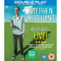 Stephen Merchant Live: Hello Ladies - Double Play (Blu-Ray and DVD)