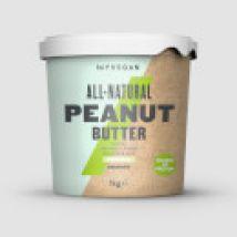 Biologische Pindakaas - 1kg - Pot - Crunchy