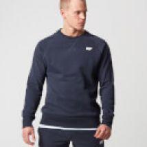 Classic Crew Neck Sweater - XXL - Navy blauw