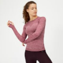 Myprotein Inspire Seamless Long Sleeve Top - Dusty Rose - L