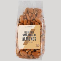 Myprotein Natural Nuts (Whole Almonds) 100% Natural - 400g - Geschmacksneutral