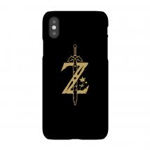 Funda Móvil Nintendo The Legend Of Zelda Master Sword para iPhone y Android - iPhone 5/5s - Carcasa doble capa - Mate