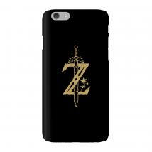 Funda Móvil Nintendo The Legend Of Zelda Master Sword para iPhone y Android - iPhone 6 - Carcasa rígida - Mate