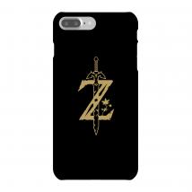 Funda Móvil Nintendo The Legend Of Zelda Master Sword para iPhone y Android - iPhone 7 Plus - Carcasa rígida - Mate