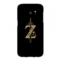 Funda Móvil Nintendo The Legend Of Zelda Master Sword para iPhone y Android - Samsung S7 Edge - Carcasa rígida - Mate