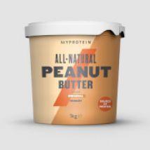 Myprotein Peanut Butter Natural - 1kg - Original - Grob