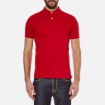 Polo Ralph Lauren Men's Slim Fit Polo Shirt - Red - L