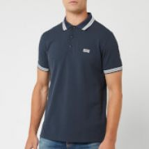 BOSS Men's Paddy Tipped Polo Shirt - Navy