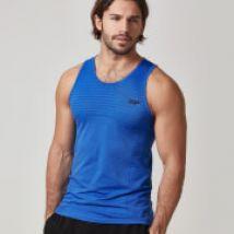 Débardeur Sans Coutures Myprotein pour Hommes - Noir Marne - XXL - Royal Blue