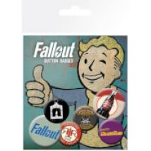 Fallout 4 Mix 2 Badge Pack