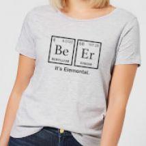 Be Er It's Elemental Women's T-Shirt - Grey - XS - Grey