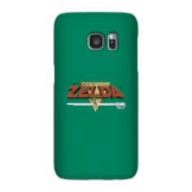 Funda Móvil Nintendo The Legend Of Zelda Retro Logo para iPhone y Android - Samsung S7 - Carcasa rígida - Mate