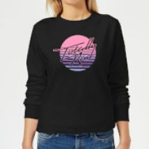 Totally Rad Women's Sweatshirt - Black - 4XL - Black