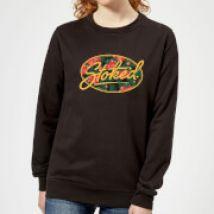 Stoked Women's Sweatshirt - Black - XS - Black