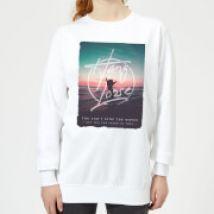 Hang Loose Women's Sweatshirt - White - XS - White