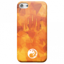 Funda Móvil Magic The Gathering Maná Rojo para iPhone y Android - iPhone 5/5s - Carcasa rígida - Mate