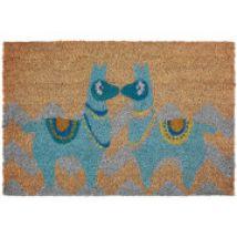 Premier Housewares Llamas Doormat