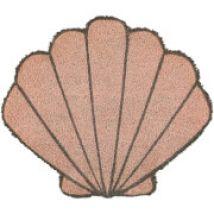 Premier Housewares Shell Doormat