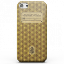 Harry Potter Hufflepuff Text Book Phone Case for iPhone and Android - iPhone 5/5s - Snap Case - Gloss
