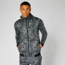 Luxe Lite Hoodie — Carbon Camo - L