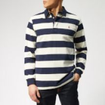Joules Men's Onside Rugby Shirt - French Navy Stripe - M - Multi