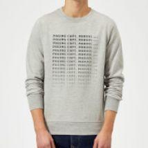 Captain Marvel Paging Sweatshirt - Grey - 5XL - Grey