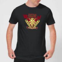 Captain Marvel Protector Of The Skies Men's T-Shirt - Black - M - Black