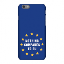 Nothing Compares To EU Phone Case for iPhone and Android - Samsung S8 - Snap Case - Matte