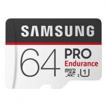 Samsung PRO Endurance 64GB Micro SDXC Flash Memory Card