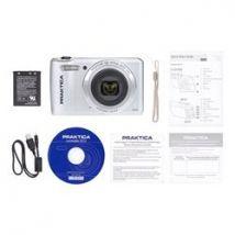 Praktica Luxmedia Z212 Camera Silver 20MP 12x Optical Zoom, WiFi