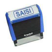 """Tampon Trodat X-PRINT 4992.13 """"Saisi"""" - Personnalisé et Professionnel - Easyflyer"""