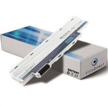 Visiodirect Batterie pour ordinateur portable ACER Aspire One D255-2BQ 11.1V 4400mAh Blanc - Batterie pour ordinateur portable