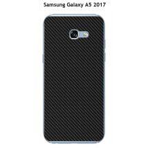 Coque Samsung Galaxy A5 2017 design Carbone Noir - Etui pour téléphone mobile