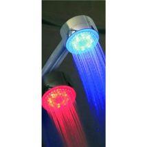 Pommeau de douche Led - Controle de température - 3 couleurs - Douchettes économiques
