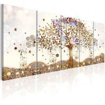 Tableau - Dazzling Tree .Taille : 225x90 - Décoration murale