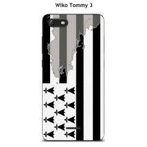 Coque TPU gel souple Wiko Tommy 3 design BZH - Etui pour téléphone mobile