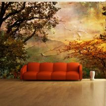 Papier peint   Painted autumn   400x309   - Décoration des murs