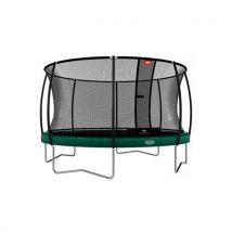 BERG Trampoline Elite Grey 430 + Safety Net Deluxe - Trampolines de fitness